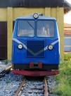 Malá motorová lokomotíva/drezina